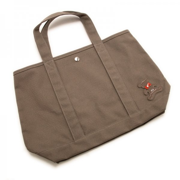 TOTE 01 [CHARCOAL] キャンバス地(帆布) トート・エコバッグ 日本製