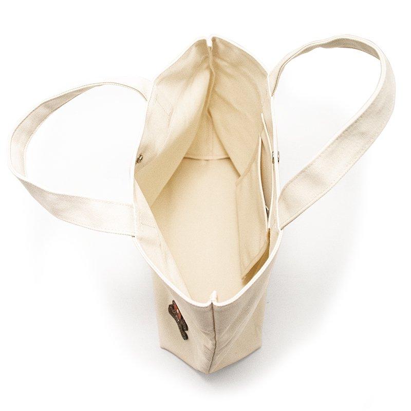 TOTE 02 [IVORY] キャンバス地(帆布) トート・エコバッグ 日本製