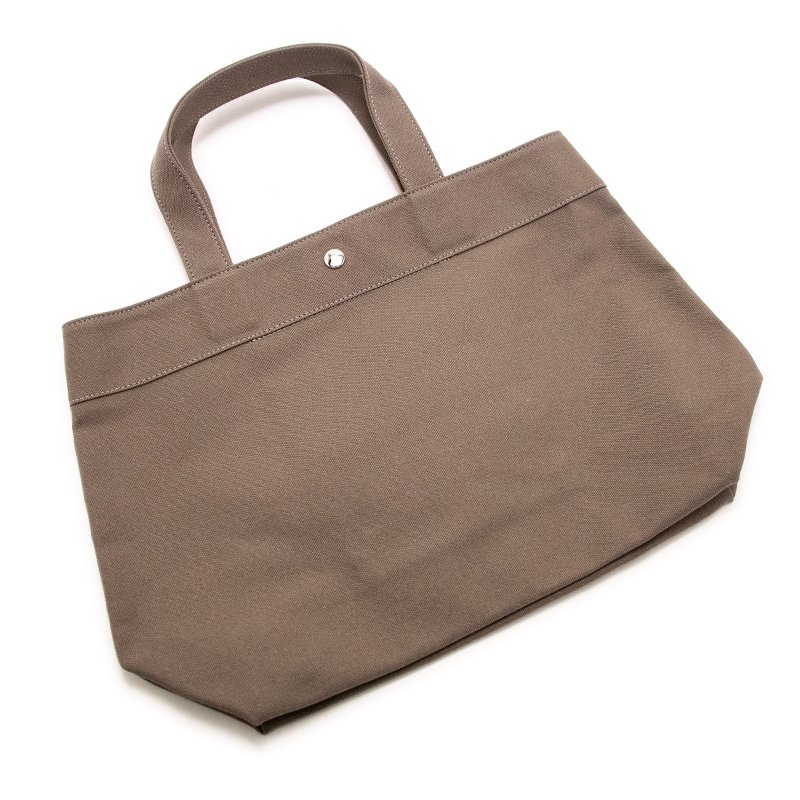TOTE 02 [CHARCOAL] キャンバス地(帆布) トート・エコバッグ 日本製