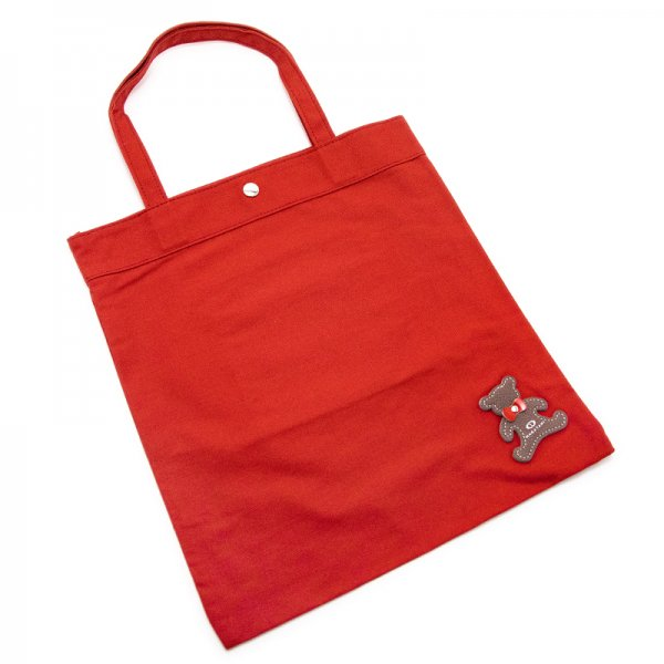 TOTE 04 [RED] キャンバス地(帆布) トート・エコバッグ 日本製