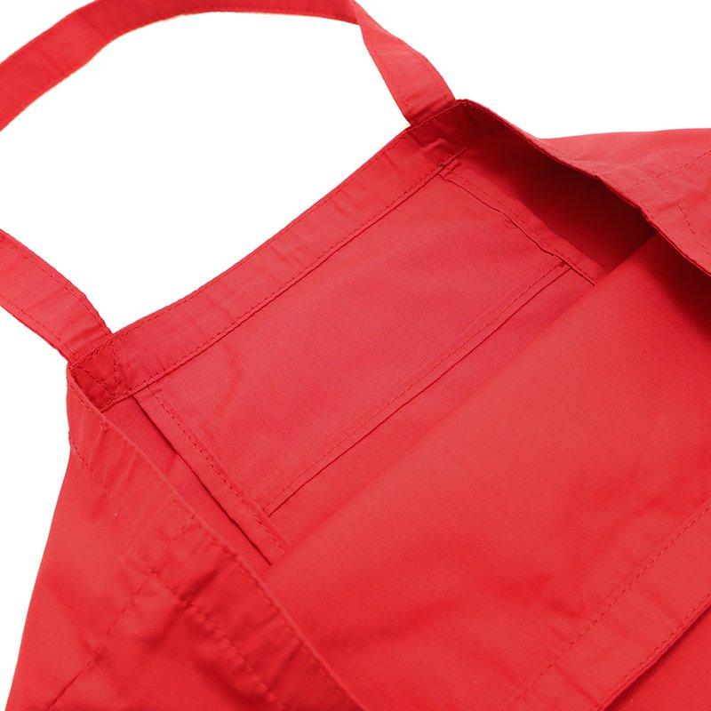 SUBBAG [RED] 抗菌・抗ウイルス生地 サブバッグ・トートバッグ・エコバッグ 日本製