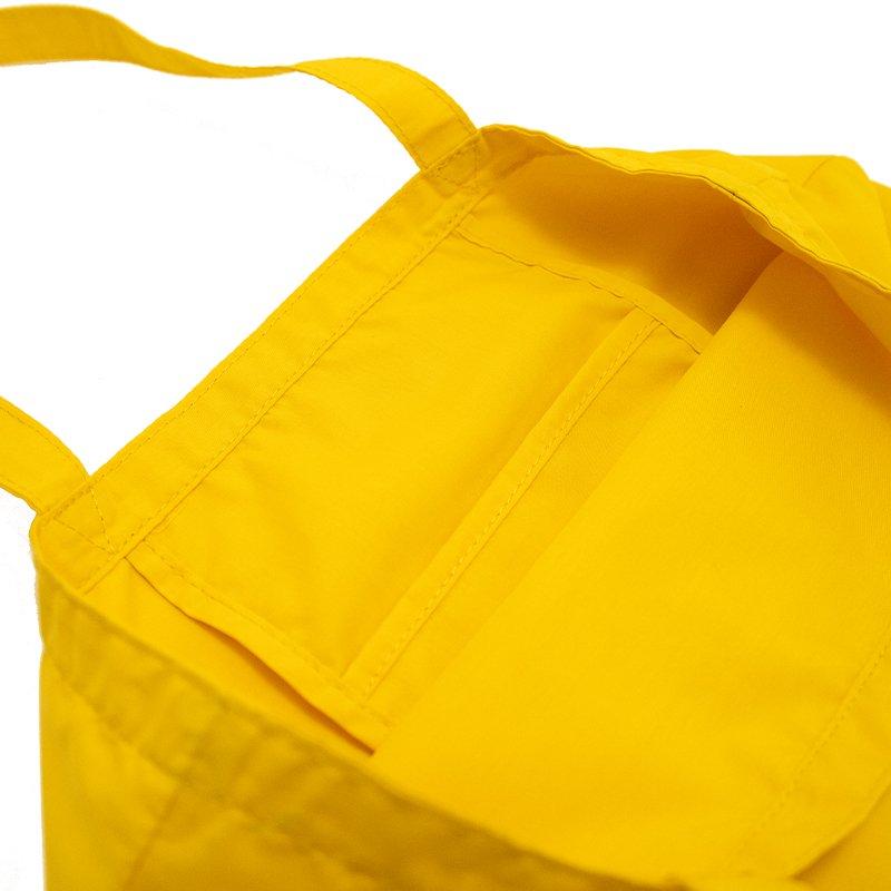 SUBBAG [YELLOW] 抗菌・抗ウイルス生地 サブバッグ・トートバッグ・エコバッグ 日本製