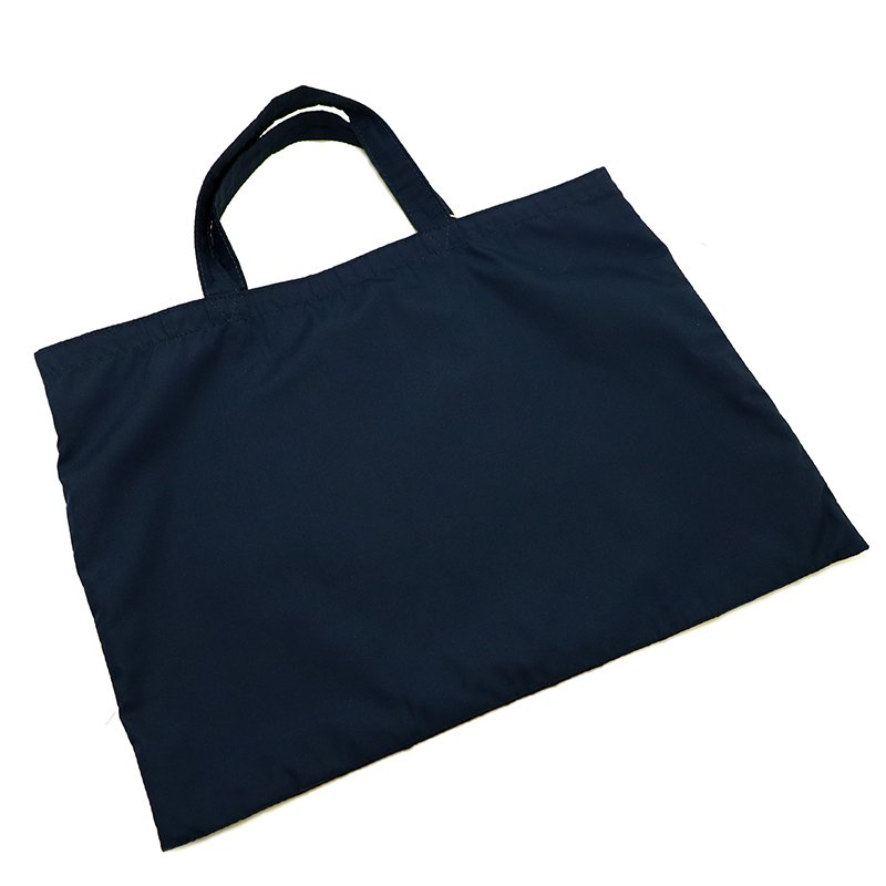LESSON BAG [NAVY×RED]  抗菌・抗ウイルス生地 レッスンバッグ・トートバッグ・エコバッグ 日本製
