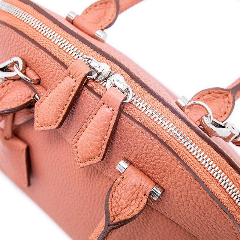 ELLIE [TERRACOTTA 限定色] シュリンクレザー・エスポワール 本革2WAYショルダーバッグ 日本製