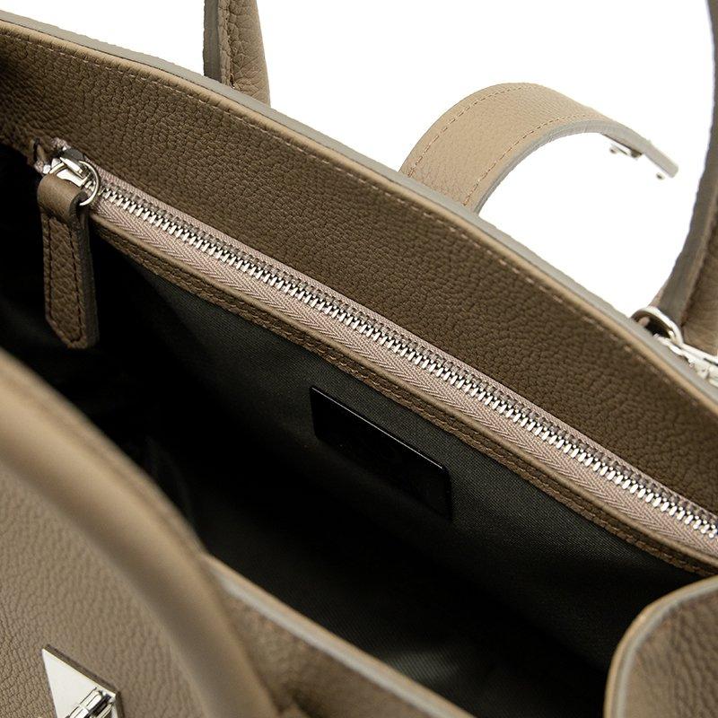 FAYETTE [OAK] シュリンクレザー・エスポワール 本革2WAYミニトートバッグ 日本製
