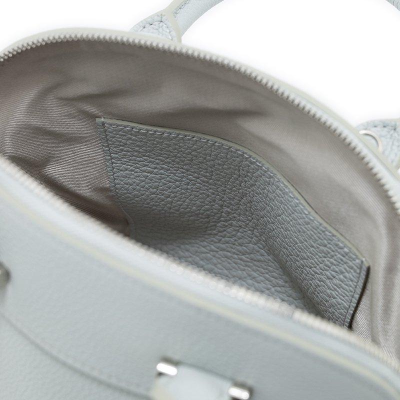 ELLIE [CHELSEA GRAY 限定色] シュリンクレザー・エスポワール 本革2WAYショルダーバッグ 日本製