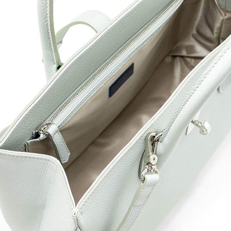ELIANE [CHELSEA GRAY 限定色] シュリンクレザー・エスポワール 本革2WAYトートバッグ 日本製