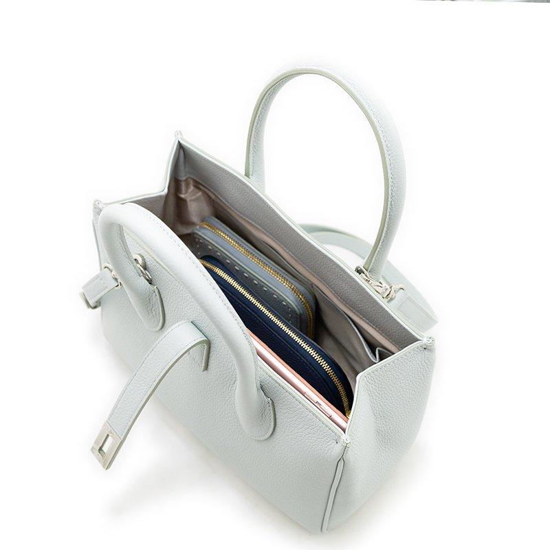FAYETTE [CHELSEA GRAY 限定色] シュリンクレザー・エスポワール 本革2WAYミニトートバッグ 日本製