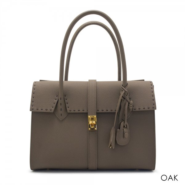 OAF-02 / シュリンクレザーハンドバッグ