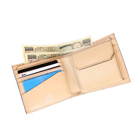 WSTO-05CV [GREEN] アメリカ産ホーウィン・コードバン 本革二つ折り財布 日本製