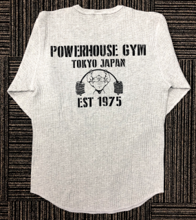<img class='new_mark_img1' src='//img.shop-pro.jp/img/new/icons1.gif' style='border:none;display:inline;margin:0px;padding:0px;width:auto;' />POWERHOUSE GYM サーマルシャツ