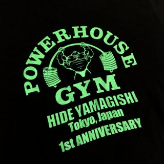 <img class='new_mark_img1' src='//img.shop-pro.jp/img/new/icons2.gif' style='border:none;display:inline;margin:0px;padding:0px;width:auto;' />POWERHOUSE GYM 1stANNIVERSARY TEE