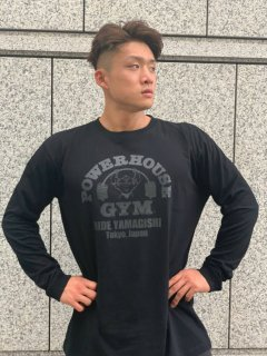 <img class='new_mark_img1' src='//img.shop-pro.jp/img/new/icons2.gif' style='border:none;display:inline;margin:0px;padding:0px;width:auto;' />POWERHOUSE GYM ロゴロングスリーブTEE