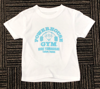 <img class='new_mark_img1' src='//img.shop-pro.jp/img/new/icons11.gif' style='border:none;display:inline;margin:0px;padding:0px;width:auto;' />POWERHOUSE GYM キッズ Tシャツ