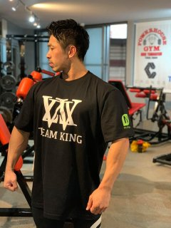 KING YUASA / NutraKey / POWERHOUSE GYM collaboration TEE