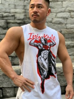 メンズ Iris Kyle Limited Edition Muscle Dog Tank Top