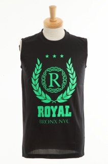 メンズ  Royal green crest dry non sleeve