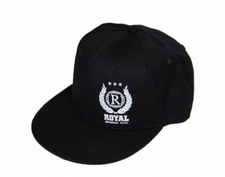 Royal crest cap