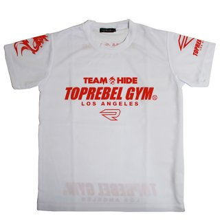 メンズ TEAM HIDE&TOPREBELGYM LIMITED EDITION T