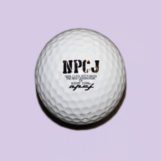 NPCJ original distance golfball (3個入り)