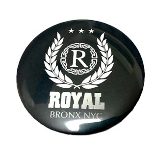 Royal 75mm badge