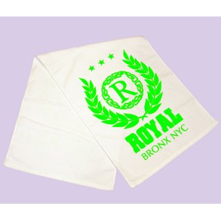 Royal green crest Sports Towel