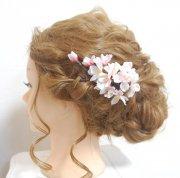 【今期販売終了】はんなり桜のヘッドドレス