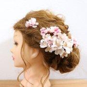 【アーティフィシャル】はんなり桜のヘッドドレス2020