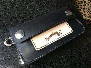<img class='new_mark_img1' src='https://img.shop-pro.jp/img/new/icons50.gif' style='border:none;display:inline;margin:0px;padding:0px;width:auto;' />Black Cowhide Trucker Wallet,