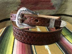 Basket wave Carving Belt