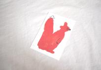 りすポストカード  MOGU TAKAHSHI