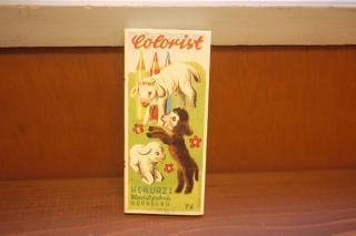 東欧で見つけた色鉛筆セット 羊(ヴィンテージ)