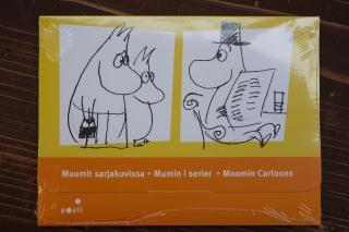 2009年度 Posti フィンランド郵便局 ムーミンの切手とカードのセット