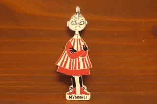 ムーミン 木製マグネット ミムラ(新品)