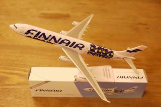 marimekko for Finnair  A340  unikko 模型