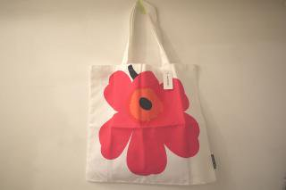marimekko UNIKKO 50th Anniversary FABRIC BAG