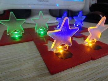 カード型 LED電球 スタータイプ 3色