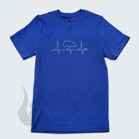 MINI ミニ HEARTBEAT Tシャツ BLUE