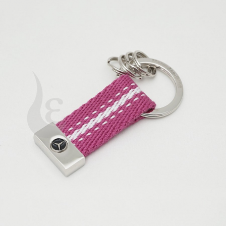メルセデスベンツ Mercedes Benz SEATBELT キーホルダー/ピンク