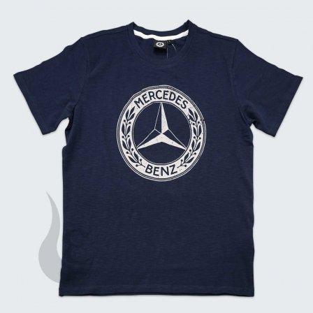 メルセデスベンツ Mercedes Benz Herren NAVY Tシャツ/Lサイズ