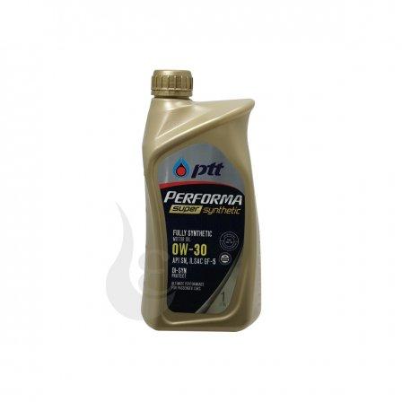 PTT オイル PERFORMA モーターオイル SUPER SYNTHETIC 0W-30 1L×10 ケース販売