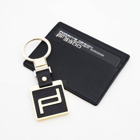 ポルシェデザインPORSCHE DESIGN キーホルダー+カードケースセット
