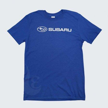 スバル SUBARU Basic Tシャツ BLUE/XLサイズ