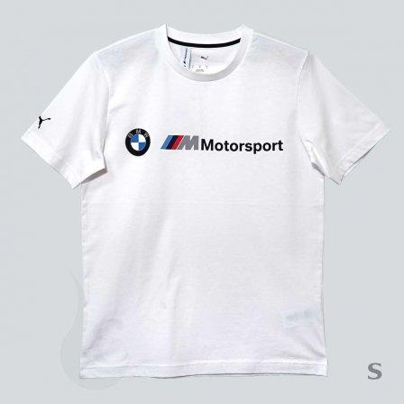 PUMA BMW プーマ ビーエムダブリュー MMS ロゴ Tシャツ WHITE/Sサイズ