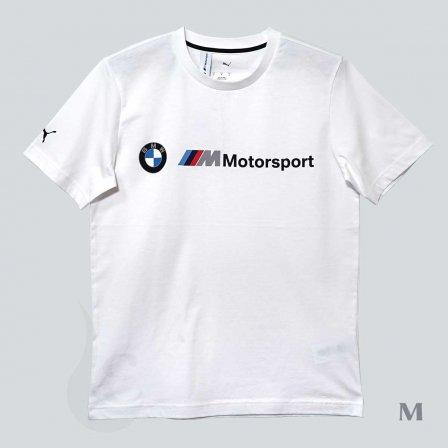 PUMA BMW プーマ ビーエムダブリュー MMS ロゴ Tシャツ WHITE/Mサイズ