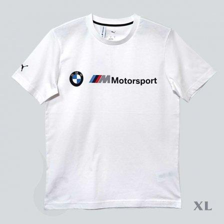 PUMA BMW プーマ ビーエムダブリュー MMS ロゴ Tシャツ WHITE/XLサイズ