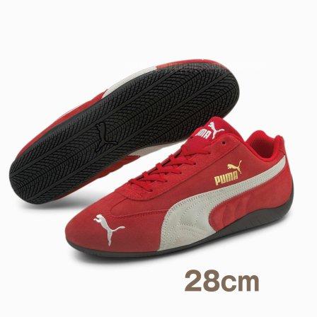 PUMA プーマ  スピードキャット LS スニーカー RED 28cm ドライビングシューズ おまけ付き