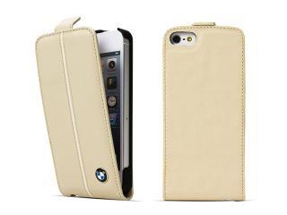 BMW 公認 モバイルフラップケース for iPhone5 ケース クリームベージュ