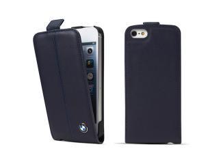 BMW 公認 モバイルフラップケース for iPhone5 ディープシーブルー