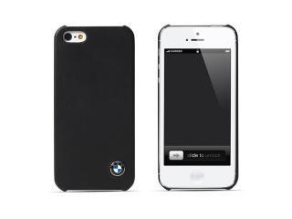 BMW 公認 レザーハードケース for iPhone5 ブラック
